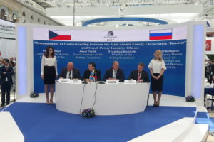 Memorandum between CPIA and ROSATOM